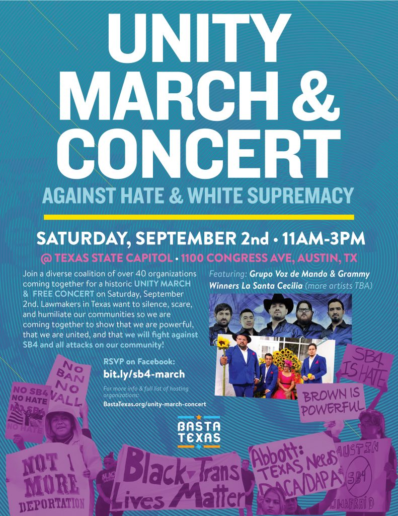 Unity March & Concert Small Flyer