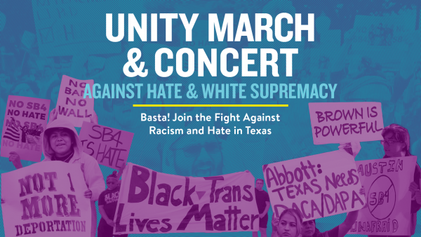 Unity March & Concert Against Hate & White Supremacy